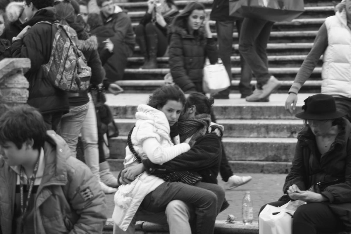 Domnisoara in Piazza di Spagna