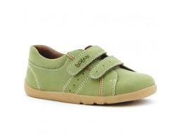 Pantofi copi sport verde Fast Forward din piele naturala