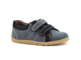 Pantofi baieti sport bleumarin Fast Forward din piele naturalaa