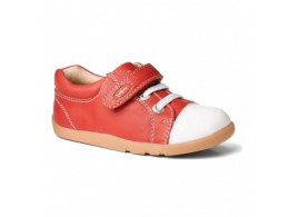 Pantofi copii sport rosu Polar din piele naturala