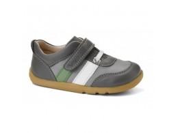 Pantofi baieti sport gri Up and Away din piele naturala