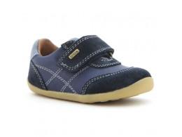 Pantofi baieti Voyager din piele naturala bleumarin