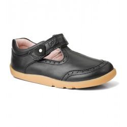Pantofi fete negru Elegant din piele naturala