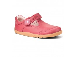 Pantofi fete Elegant din piele naturala roz