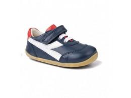 Pantofi baieti sport Lickity Split din piele naturala bleumarin