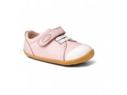 Pantofi fete sport Ice Cap din piele naturala roz