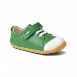 Pantofi copii sport Ice Cap din piele naturala verde