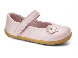 Pantofi fete Little Star din piele naturala roz