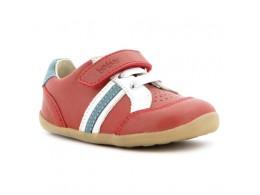 Pantofi copii rosu Trackside sport din piele naturala