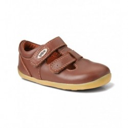 Pantofi copii maron Jack & Jill din piele naturala