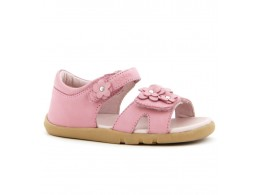 Sandale fete roz Dreamer din piele naturala