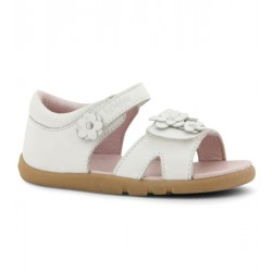 Sandale fete alb Dreamer din piele naturala