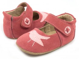 Pantofi bebelusi corai Pio Pio din piele naturala