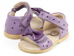 Sandale fete Minnie din piele naturala roz