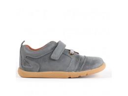 Pantofi copii sport Echo din piele naturala gri