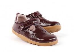 Pantofi fete Rhyme din piele naturala mov