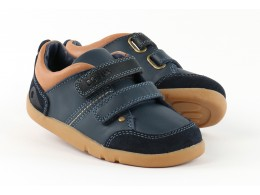 Pantofi baieti sport Switch din piele naturala bleumarin