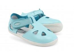 Sandale copii Zap din piele naturala bleu