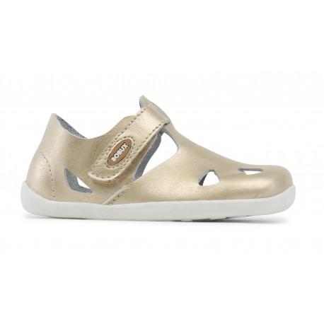 Sandale fete Zap din piele naturala roz