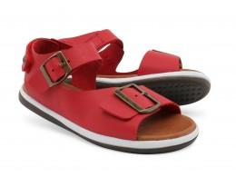 Sandale copii rosu Soul din piele naturala