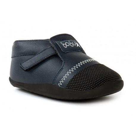 Pantofi baieti bleumarin Xplorer din piele naturala si lana merinos