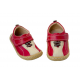Pantofi baieti Emilio din piele naturala rosie
