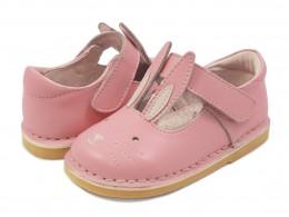 Pantofi fete Molly din piele naturala roz