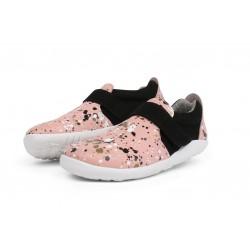 Pantofi sport fete Spekkel Kid+ din piele naturala roz