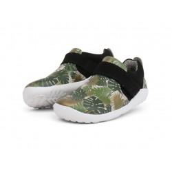 Pantofi sport copii Habitat din piele naturala verde