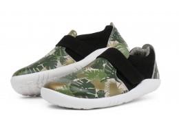 Pantofi copii Habitat Kid+ din piele naturala verde