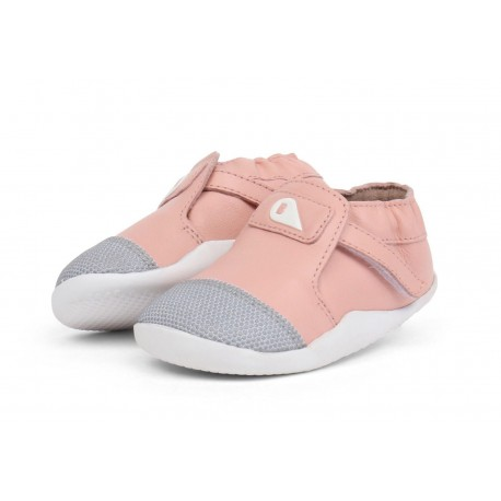 Pantofi fete Origin din piele naturala roz