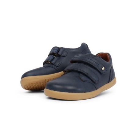Pantofi baieti sport Port din piele naturala bleumarin