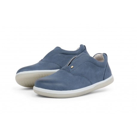 Pantofi baieti sport Duke din piele naturala albastra