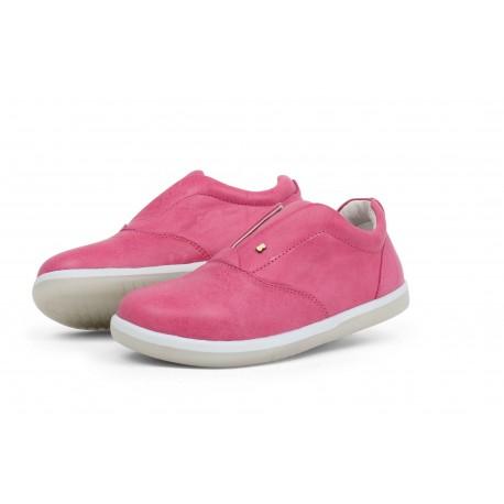 Pantofi fete sport Duke Kid din piele naturala roz