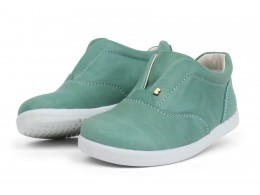 Pantofi copii sport Duke din piele naturala verde