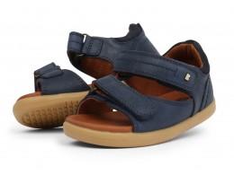 Sandale baieti Driftwood din piele naturala bleumarin