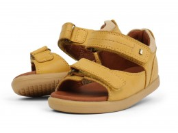 Sandale baieti Driftwood din piele naturala galbena