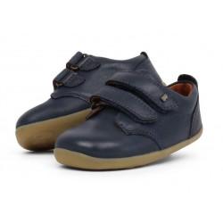 Pantofi baieti sport Port StepUp din piele naturala bleumarin