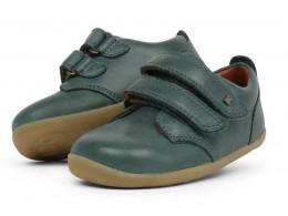 Pantofi sport copii Port StepUp din piele naturala verde