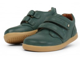Pantofi sport copii Port din piele naturala verde