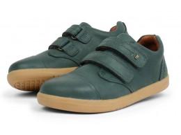 Pantofi sport copii Port Kid din piele naturala verde