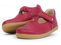 Pantofi fete Louise din piele naturala roz