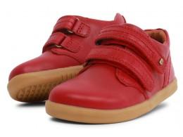 Pantofi sport copii Port din piele naturală roșie