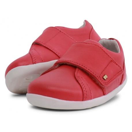 Pantofi sport copii Boston StepUp din piele naturală roșie