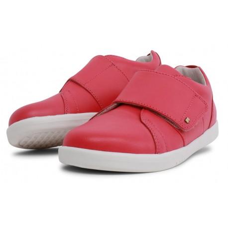 Pantofi sport fete Boston Kid+ din piele naturală roz