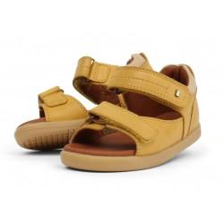 Sandale copii Driftwood din piele naturală galbenă