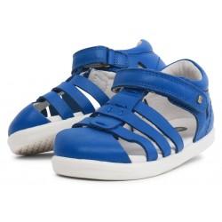 Sandale băieți Tidal din piele naturală albastru safir