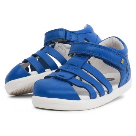 Sandale băieți Tidal Kid din piele naturală albastru safir