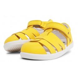Sandale copii Tidal din piele naturală galbenă