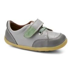 Pantofi baieti sport Rockin' Casual din piele naturala gri